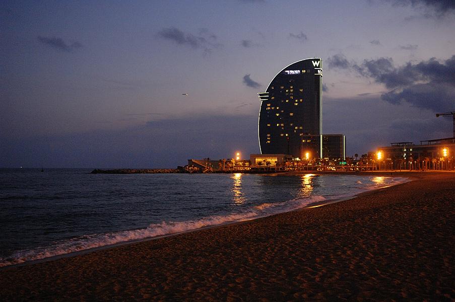Barcelona Pictures Hotel W Vela Barceloneta Beach
